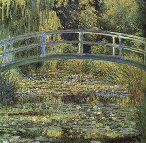 Claude Monet - the waterlily pond