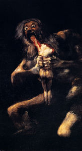 Francisco De Goya - saturn devouring his sons