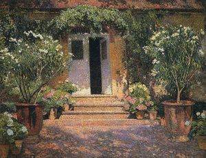 Henri Jean Guillaume Martin - Port Entree a Marquayrol
