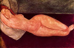 Amedeo Modigliani - untitled (1697)
