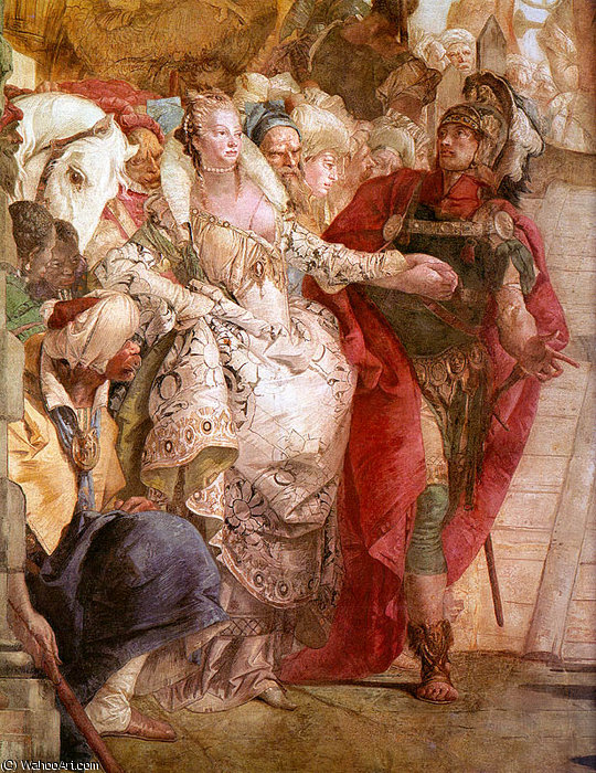 famous painting untitled (576) of Giovanni Battista Tiepolo