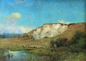 Ernest Albert Waterlow - The Quarry