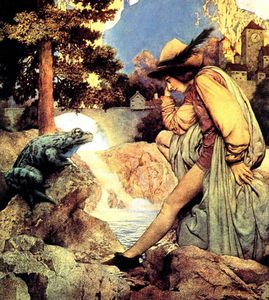 Maxfield Parrish - the frog prince