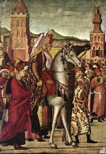 Vittore Carpaccio - The Triumph of St George (detail - )