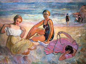 Henri Lebasque - On the Beach