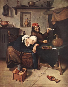 Jan Havicksz Steen - the drinker