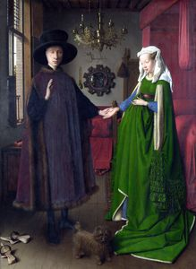 Jan Van Eyck - The arnolfini portrait