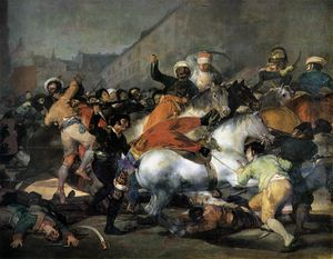Francisco De Goya - The Charge of the Mamelukes