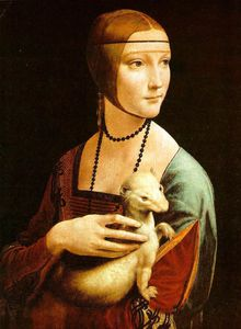 Leonardo Da Vinci - Lady with an ermine, Czart