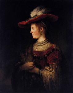 Rembrandt Van Rijn - Saskia in Pompous Dress