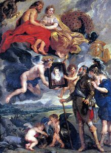 Peter Paul Rubens - The Presentation of The Portrait