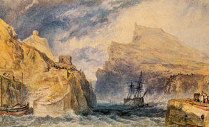 William Turner - Boscastle cornwall