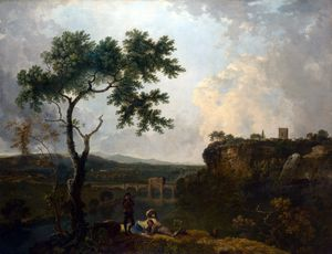 Richard Wilson - Holt Bridge on the River Dee
