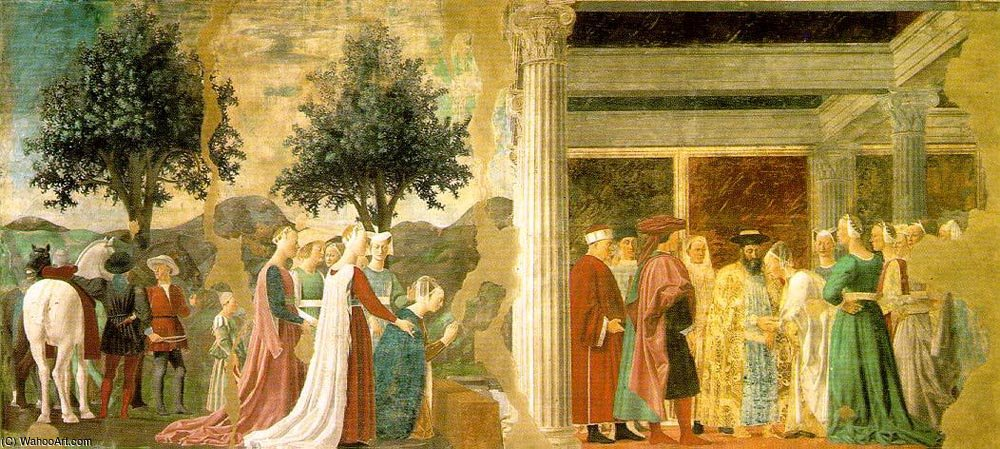 a literary analysis of francesco del cossas meeting of solomon and the queen of sheba