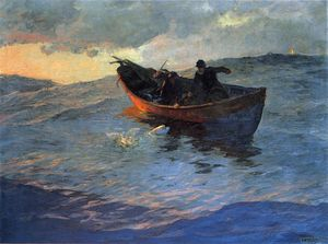 Willard Leroy Metcalf - On the Suffolk Coast