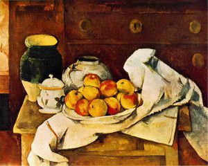 Paul Cezanne - Still life,1883-87, fogg art museum, harvard univers