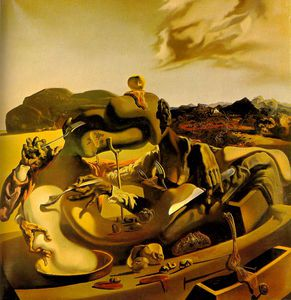 Salvador Dali - Dalí cannibalism in autumn,1936-37, tate gallery,london