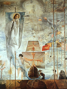 Salvador Dali - Dalí the discovery of america by christopher columbus (the d