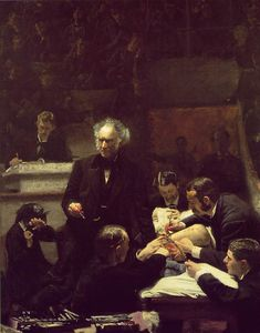 Thomas Eakins - The gross clinic jefferson medical college of th