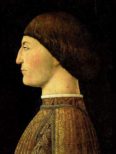 Piero Della Francesca - Portrait of Sigismondo Malatesta, LOUVRE