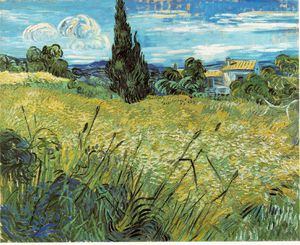 Vincent Van Gogh - Wheat field, Narodni Galerie, P