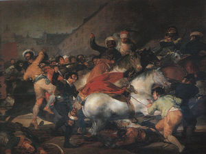 Francisco De Goya - The Second of May oil on canvas, Museo del