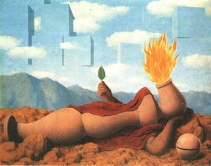 Rene Magritte - ELEMENTARY COSMOGONY, Private NY
