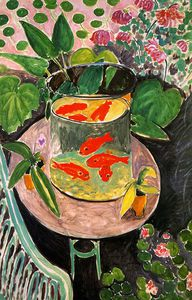 Henri Matisse - The Goldfish, oil on canvas, Pushkin Museum of