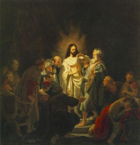 Rembrandt Van Rijn - The incredulity of st thomas pusjkin museum m