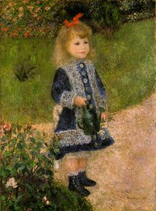 Pierre-Auguste Renoir - A girl with a watering can, The Nati