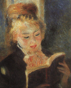 Pierre-Auguste Renoir - Woman Reading, Musée d'Orsay at Paris