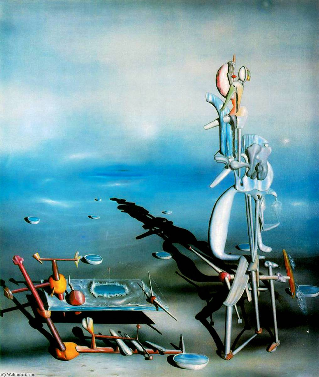 famous painting Indefinite divisibility of Yves Tanguy