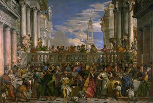 Paolo Veronese - The Feast at Cana, Louvr