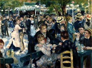 Pierre-Auguste Renoir - Dance at the Moulin de la Galette