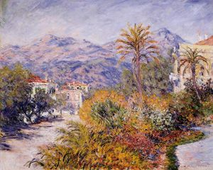 Claude Monet - Strada Romana in Bordighera