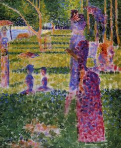 Georges Pierre Seurat - La grande jatte - the couple