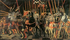 Paolo Uccello - Battle of San Romano - Micheletto da Cotignola