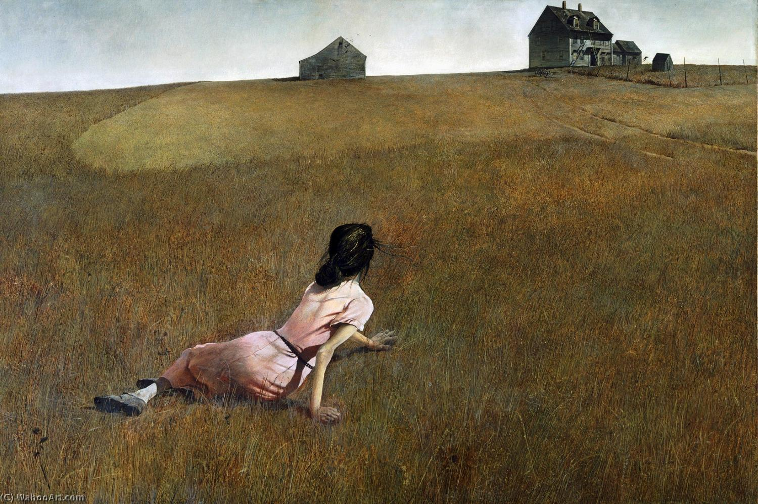 famous painting Christina's World of Andrew Wyeth