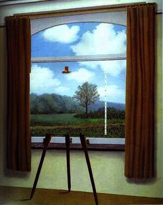 Rene Magritte - La Condition humaine