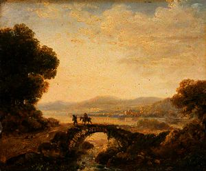 Richard Wilson - Landscape with a Bridge