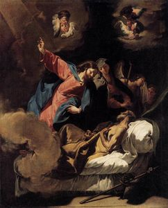 Giovanni Battista Pittoni - The Death of Joseph