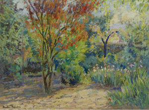 Jacques Martin-Ferrieres - At the Garden