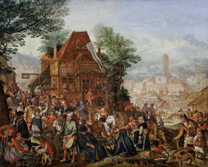 Pieter Stevens - Feast on the Anniversary of a Church Foundation