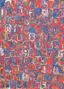 Jasper Johns - Numbers in Color
