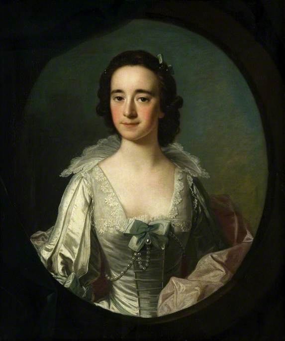 famous painting Portrait of a Lady of Allan Ramsay
