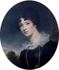George Clint - Maria Augusta (Lukin) Windham, Subsequently Mrs George Thomas Wyndham, Later Countess of Listowel