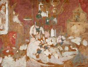 Jean Edouard Vuillard - The Table