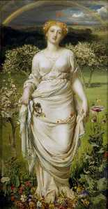 Anthony Frederick Augustus Sandys - Gentle Spring