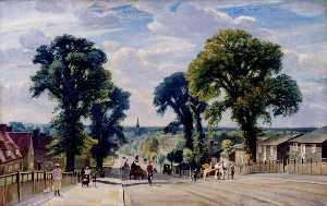 Francis Dodd - The Well Hall Road