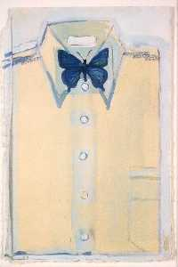 Joe Brainard - Shirt with Butterfly